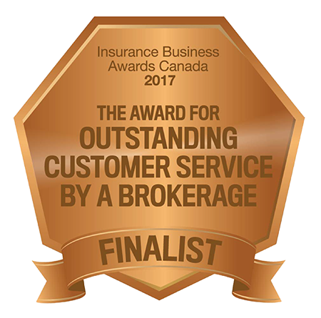 The Award for Outstanding Customer Service by a Brokerage Finalist 2017